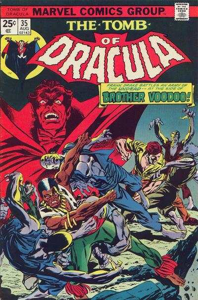 Tomb of Dracula #35 comic books - cover scans photos Tomb of Dracula #35 comic books - covers, picture gallery