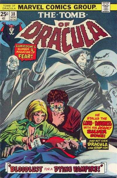 Tomb of Dracula #38 comic books - cover scans photos Tomb of Dracula #38 comic books - covers, picture gallery