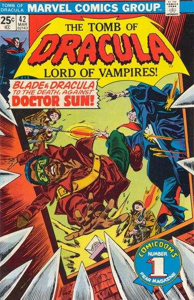 Tomb of Dracula #42 Comic Books - Covers, Scans, Photos  in Tomb of Dracula Comic Books - Covers, Scans, Gallery