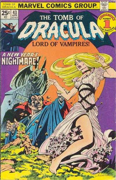 Tomb of Dracula #43 comic books for sale