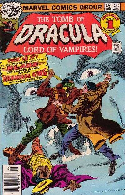 Tomb of Dracula #45 comic books - cover scans photos Tomb of Dracula #45 comic books - covers, picture gallery