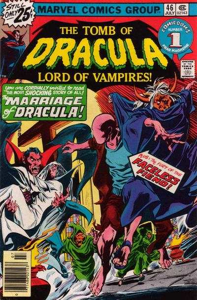 Tomb of Dracula #46 comic books - cover scans photos Tomb of Dracula #46 comic books - covers, picture gallery