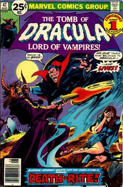 Tomb of Dracula #47 comic books for sale