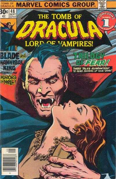 Tomb of Dracula #48 comic books - cover scans photos Tomb of Dracula #48 comic books - covers, picture gallery