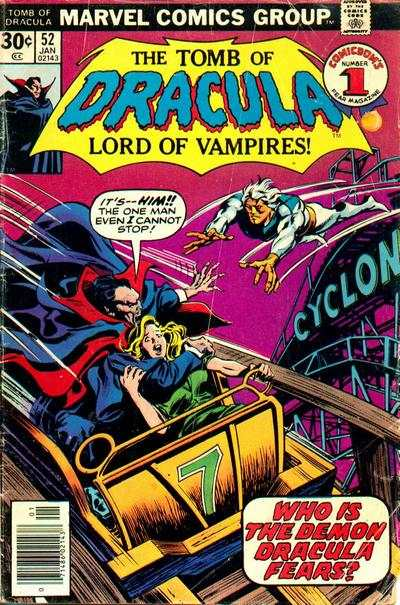 Tomb of Dracula #52 Comic Books - Covers, Scans, Photos  in Tomb of Dracula Comic Books - Covers, Scans, Gallery
