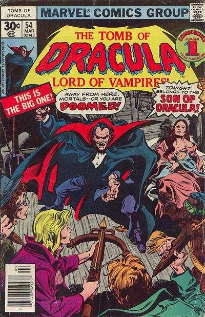 Tomb of Dracula #54 Comic Books - Covers, Scans, Photos  in Tomb of Dracula Comic Books - Covers, Scans, Gallery