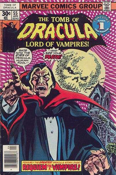 Tomb of Dracula #55 comic books - cover scans photos Tomb of Dracula #55 comic books - covers, picture gallery