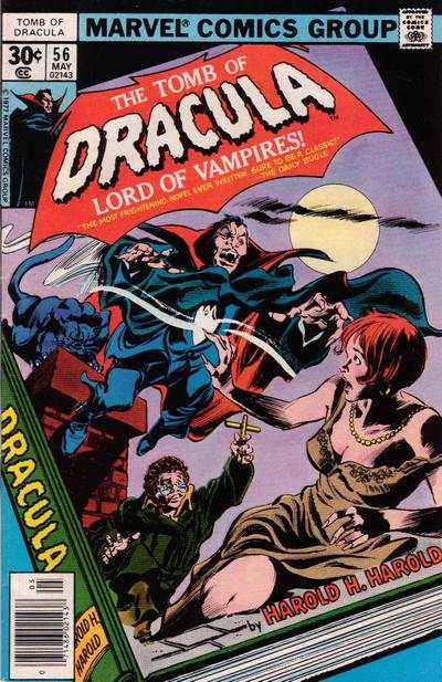 Tomb of Dracula #56 comic books - cover scans photos Tomb of Dracula #56 comic books - covers, picture gallery
