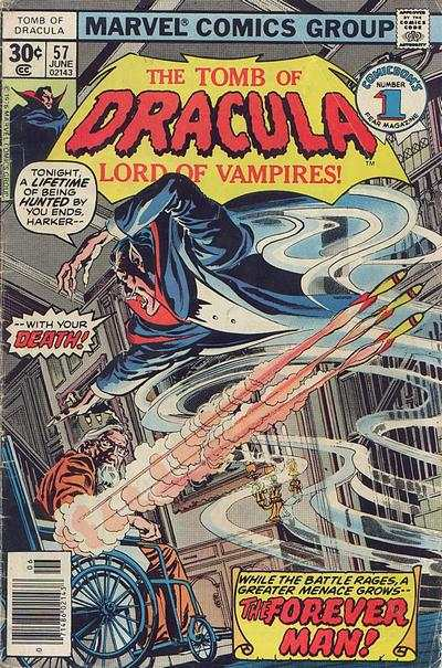 Tomb of Dracula #57 Comic Books - Covers, Scans, Photos  in Tomb of Dracula Comic Books - Covers, Scans, Gallery