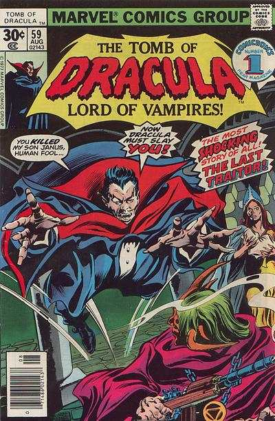 Tomb of Dracula #59 Comic Books - Covers, Scans, Photos  in Tomb of Dracula Comic Books - Covers, Scans, Gallery