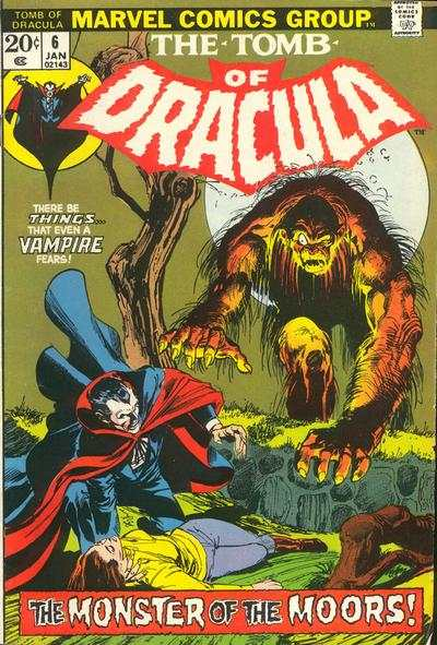 Tomb of Dracula #6 comic books - cover scans photos Tomb of Dracula #6 comic books - covers, picture gallery