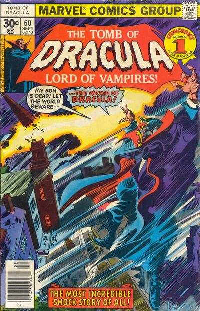 Tomb of Dracula #60 comic books for sale