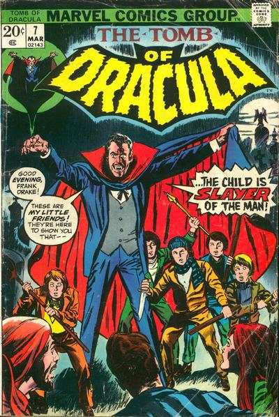 Tomb of Dracula #7 comic books - cover scans photos Tomb of Dracula #7 comic books - covers, picture gallery
