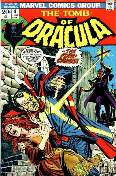 Tomb of Dracula #9 comic books - cover scans photos Tomb of Dracula #9 comic books - covers, picture gallery