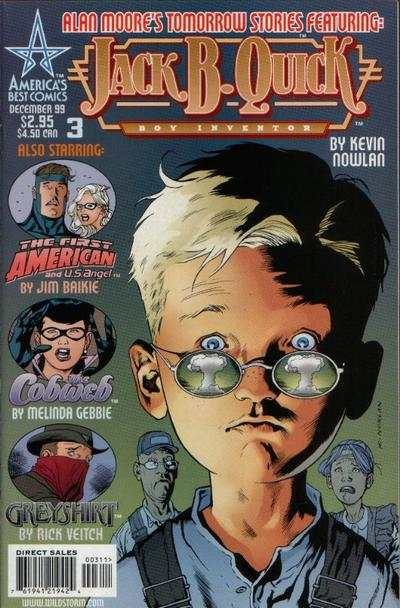 Tomorrow Stories #3 Comic Books - Covers, Scans, Photos  in Tomorrow Stories Comic Books - Covers, Scans, Gallery