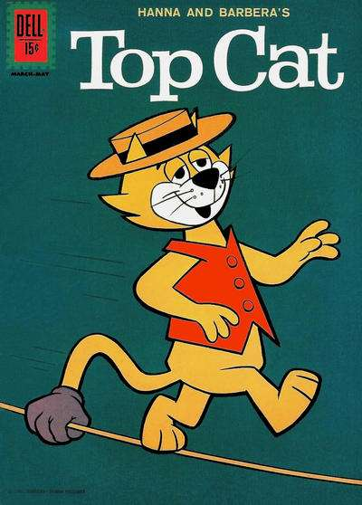 Top Cat #2 comic books - cover scans photos Top Cat #2 comic books - covers, picture gallery