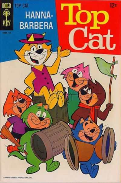 Top Cat #21 Comic Books - Covers, Scans, Photos  in Top Cat Comic Books - Covers, Scans, Gallery