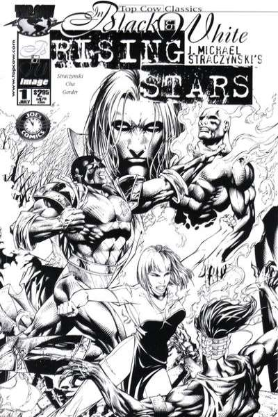 Top Cow Classics in Black and White: Rising Stars #1 Comic Books - Covers, Scans, Photos  in Top Cow Classics in Black and White: Rising Stars Comic Books - Covers, Scans, Gallery