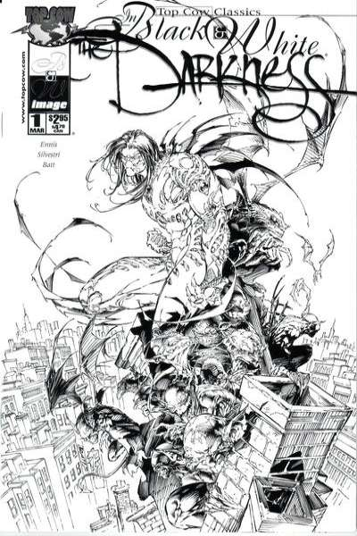 Top Cow Classics in Black and White: The Darkness #1 comic books - cover scans photos Top Cow Classics in Black and White: The Darkness #1 comic books - covers, picture gallery