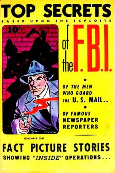 Top Secrets of the FBI comic books