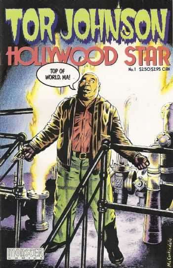 Tor Johnson: Hollywood Star #1 comic books for sale