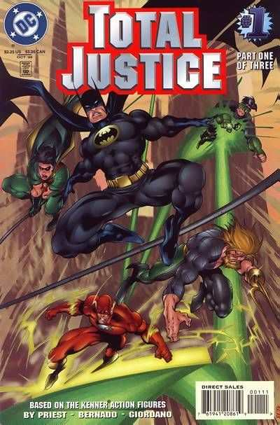 Total Justice comic books