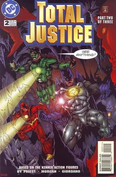 Total Justice #2 Comic Books - Covers, Scans, Photos  in Total Justice Comic Books - Covers, Scans, Gallery