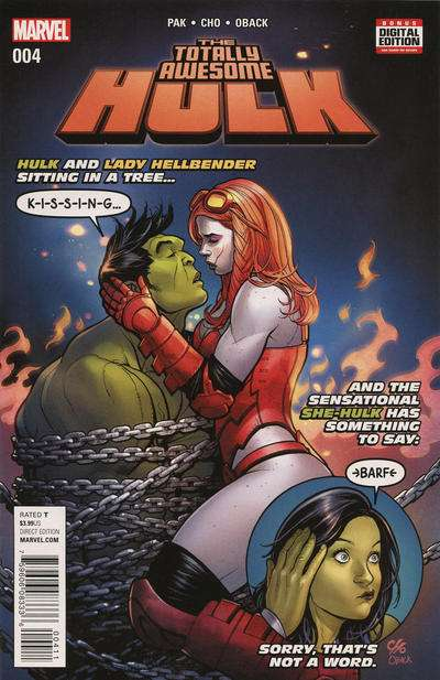 Totally Awesome Hulk #4 in Near Mint + condition. FREE bag ...