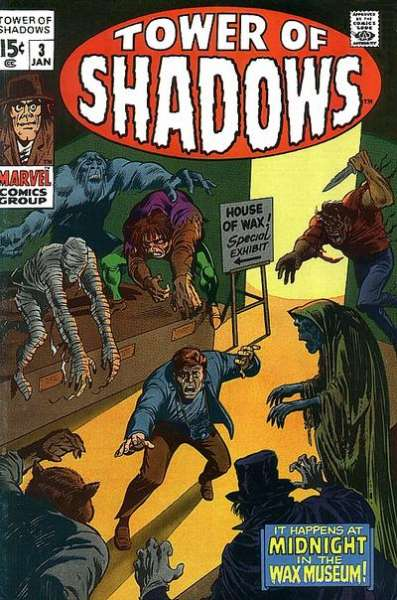 Tower of Shadows #3 Comic Books - Covers, Scans, Photos  in Tower of Shadows Comic Books - Covers, Scans, Gallery