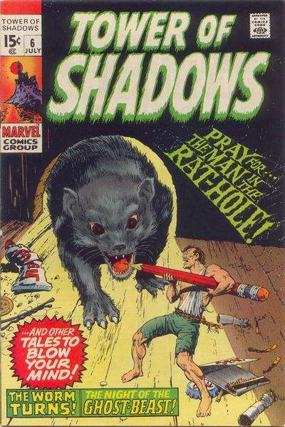 Tower of Shadows #6 comic books for sale