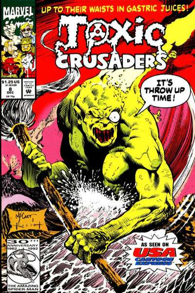 Toxic Crusaders #8 Comic Books - Covers, Scans, Photos  in Toxic Crusaders Comic Books - Covers, Scans, Gallery