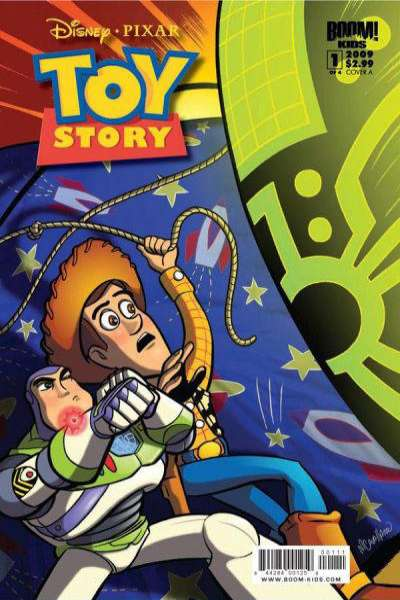 Toy Story: Mysterious Stranger comic books