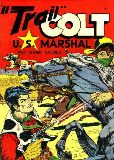 Trail Colt Comic Books. Trail Colt Comics.