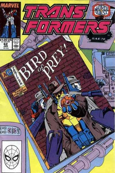 Transformers #62 comic books for sale