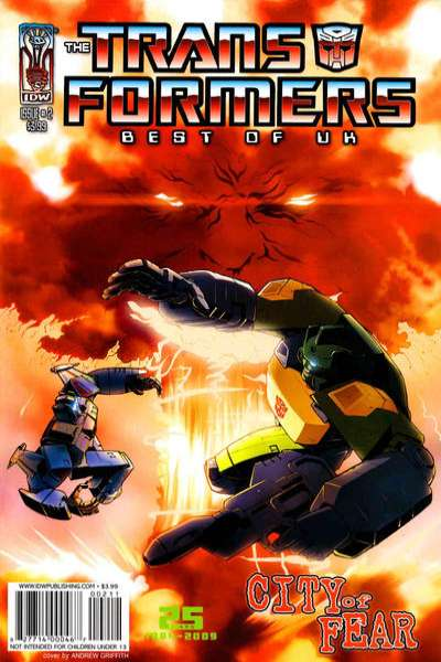Transformers: Best of UK: City of Fear #2 Comic Books - Covers, Scans, Photos  in Transformers: Best of UK: City of Fear Comic Books - Covers, Scans, Gallery