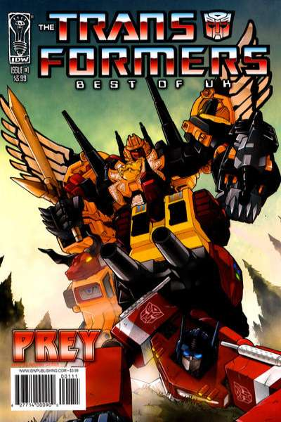Transformers: Best of UK: Prey #1 Comic Books - Covers, Scans, Photos  in Transformers: Best of UK: Prey Comic Books - Covers, Scans, Gallery