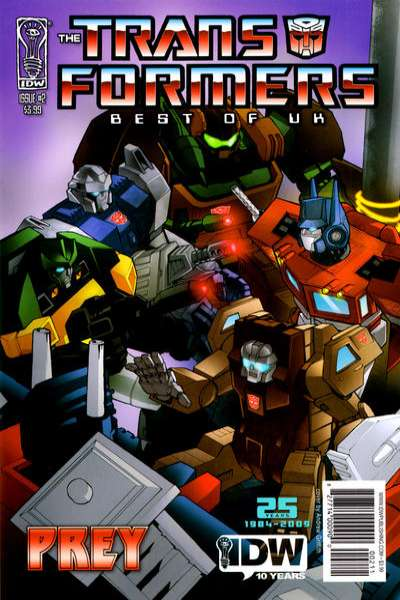 Transformers: Best of UK: Prey #2 Comic Books - Covers, Scans, Photos  in Transformers: Best of UK: Prey Comic Books - Covers, Scans, Gallery