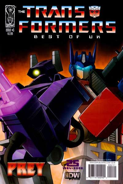 Transformers: Best of UK: Prey #3 cheap bargain discounted comic books Transformers: Best of UK: Prey #3 comic books