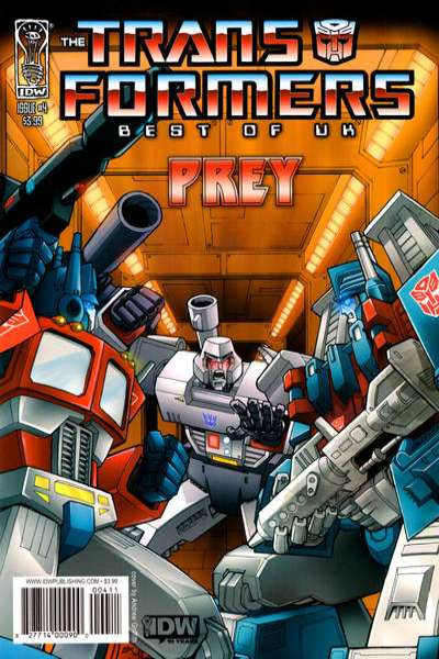 Transformers: Best of UK: Prey #4 cheap bargain discounted comic books Transformers: Best of UK: Prey #4 comic books