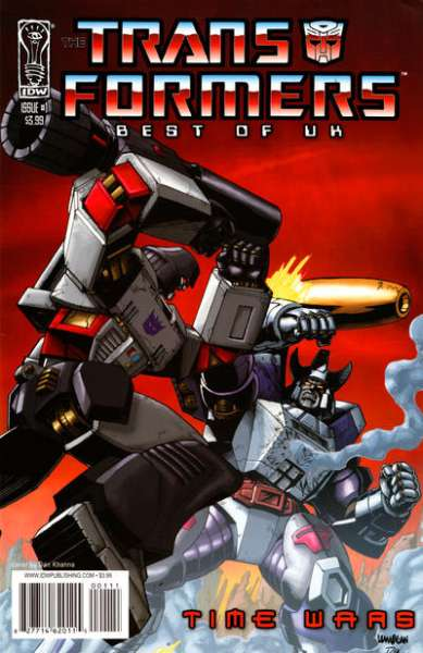 Transformers: Best of UK: Time Wars comic books