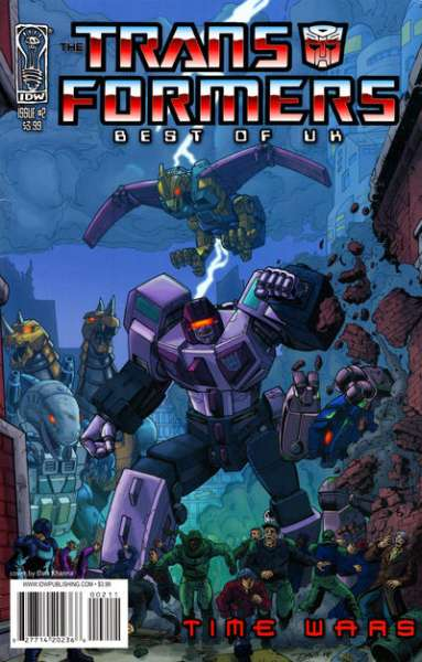 Transformers: Best of UK: Time Wars #2 comic books - cover scans photos Transformers: Best of UK: Time Wars #2 comic books - covers, picture gallery