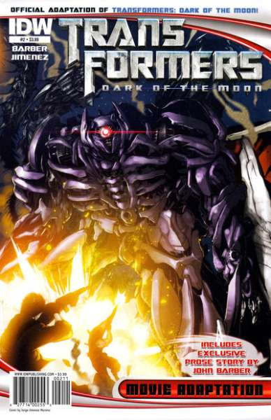 Transformers Dark of the Moon Movie Adaptation #2 comic books - cover scans photos Transformers Dark of the Moon Movie Adaptation #2 comic books - covers, picture gallery