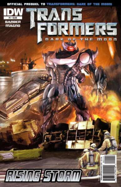 Transformers Dark of the Moon: Rising Storm comic books