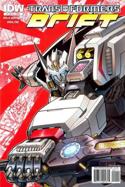 Transformers: Drift #1 Comic Books - Covers, Scans, Photos  in Transformers: Drift Comic Books - Covers, Scans, Gallery