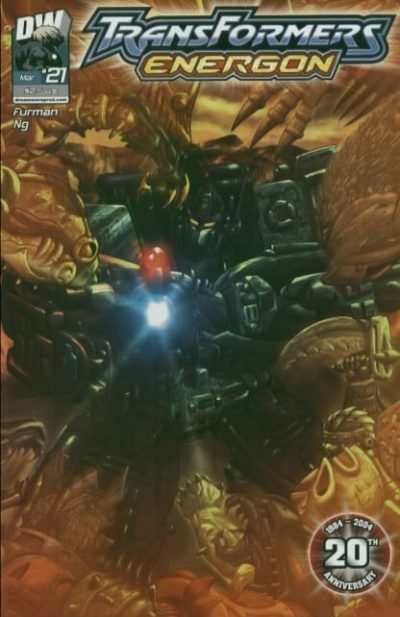 Transformers Energon #21 comic books - cover scans photos Transformers Energon #21 comic books - covers, picture gallery