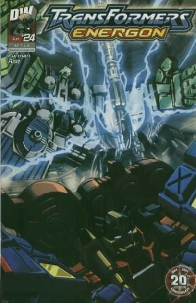 Transformers Energon #24 comic books - cover scans photos Transformers Energon #24 comic books - covers, picture gallery