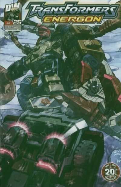 Transformers Energon #25 comic books - cover scans photos Transformers Energon #25 comic books - covers, picture gallery