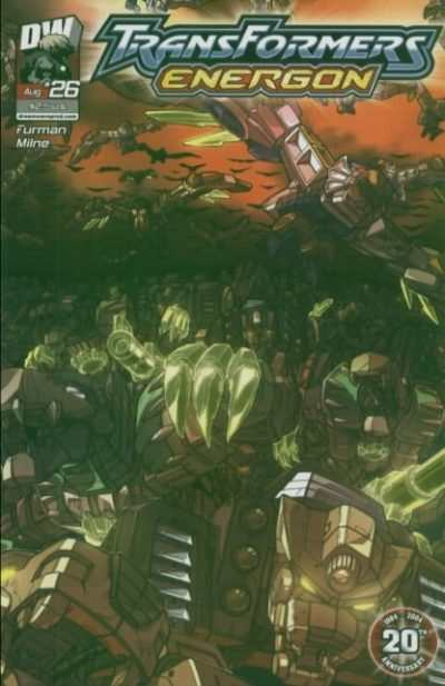 Transformers Energon #26 comic books - cover scans photos Transformers Energon #26 comic books - covers, picture gallery