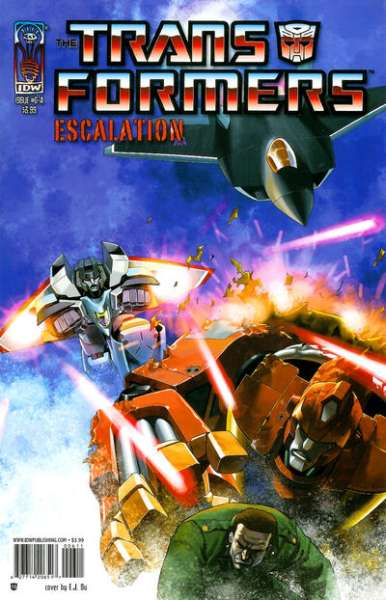Transformers: Escalation #6 cheap bargain discounted comic books Transformers: Escalation #6 comic books
