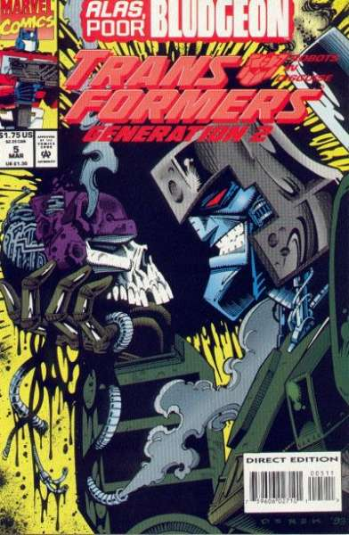 Transformers: Generation 2 #5 comic books for sale